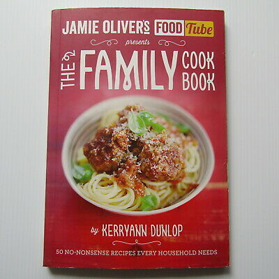 AU6.95 • Buy Jamie Oliver's Food Tube: The Family Cookbook By Kerryann Dunlop