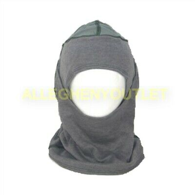$9.90 • Buy US Military Army Elite Issue Antiflash Flame Resistant PBI Sage Grey Hood VGC