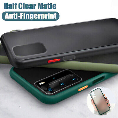 $ CDN5.05 • Buy For Samsung Galaxy S20 Plus Ultra S10 S9 S8 Matte Clear Hybrid Bumper Case Cover