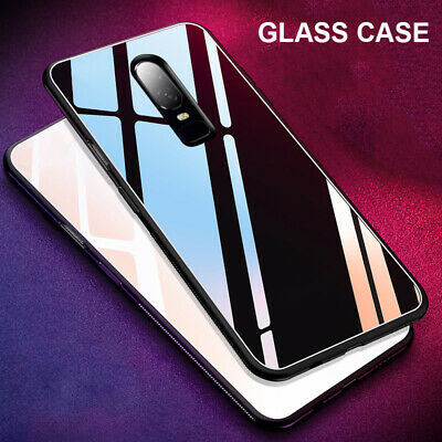 AU6.76 • Buy For OnePlus 8 Pro 7T Pro 7 Pro 6 6T 5T Tempered Glass Back Case Hybrid Cover