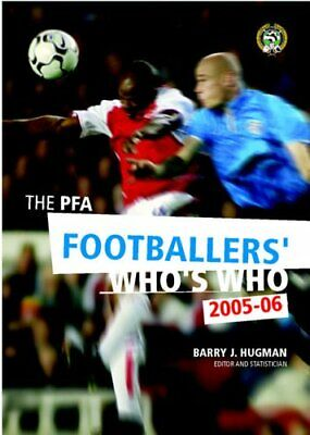 The PFA Footballers' Who's Who 2005-2006 New 9781852916626 Fast Free Shipping.. • 8.68£