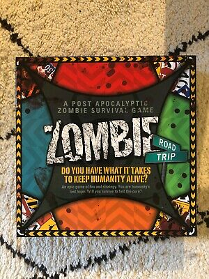 Zombie Road Trip Board Game.100% Complete.Mint • 9.99£