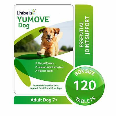 Lintbells YuMOVE Dog Joint Supplement For Stiff Dogs - 120 Tablets • 22£
