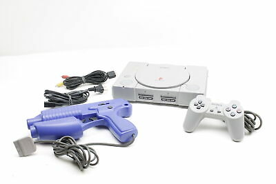 $59.99 • Buy Sony PlayStation SCPH-5501 Video Game Console With Lightblaster Gun (2826)