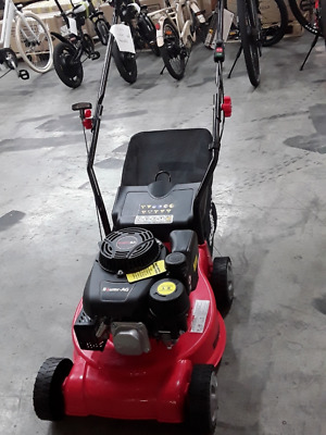 AU79 • Buy Lawn Mower 16  Petrol Powered Hand Push Engine Lawnmower Catch 4 Stroke