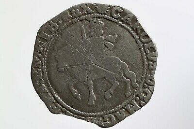 Charles I Halfcrown With Sun Mintmark, Dates 1645-46, S2778 • 110£