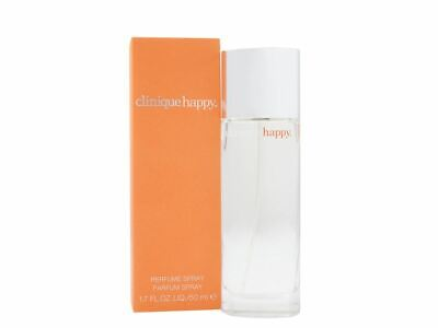 Clinique Happy Perfume Spray 50ml Women's - NEW. For Her • 30.95£