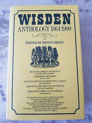 £11 • Buy Wisden Anthology 1864 - 1900 Edited By Benny Green