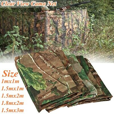 £9.11 • Buy Camouflage Camo Net Hide Netting Pigeon Decoy Hunting Shooting Woodland Oak UK