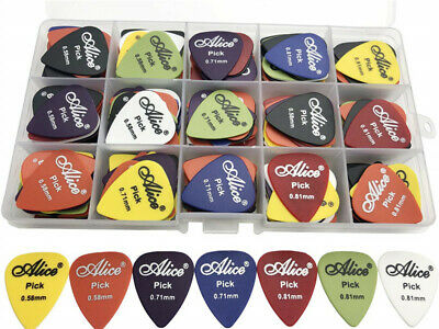 $ CDN15.18 • Buy 100 Pcs Alice Electric Guitar Pick Acoustic Music Picks Plectrum Mix Thickness