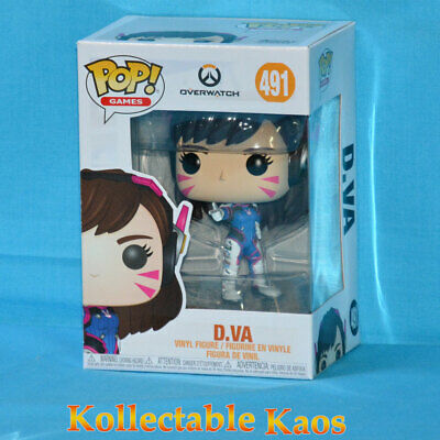 AU15 • Buy Overwatch - D.Va Pop! Vinyl Figure #491
