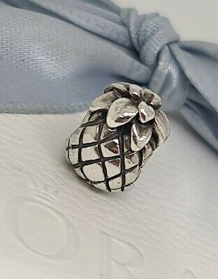 AU49 • Buy Authentic Pandora Sterling Silver Pineapple Charm Retired 790363