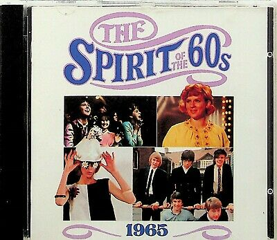 TIME LIFE SPIRIT OF THE 60s- Best 1965 Pop CD (1990) Kinks/Ivy League/Them • 6.47£