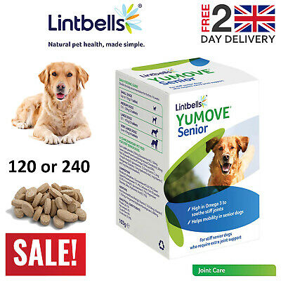 Lintbells YuMOVE Senior Dog Joint Supplement For Stiff And Older Dogs Tabs • 37.99£
