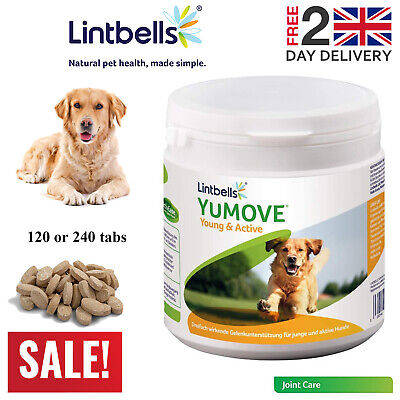 Lintbells YuMOVE Young And Active Joint Support Growing Joints Aged 2 To 6 • 19.99£