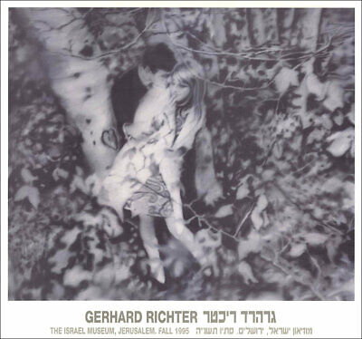 $115 • Buy Gerhard RICHTER Lovers In The Forest 1966 Museum Poster