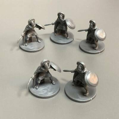 AU6.36 • Buy 5x Soldiers Figures For Dungeons & Dragons D&D Miniatures