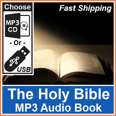 £4.95 • Buy The Holy Bible Old & New Testaments (English Kings James Version) MP3 Audio Book