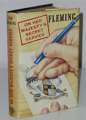 1st Print On Her Majesty's Secret Service Ian Fleming Cape 1963 UK HB James Bond • 200£