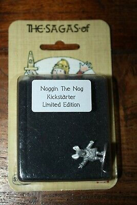 New Blister Limited Edition Noggin The Nog Moon Mouse Pewter 28mm Miniature • 20£