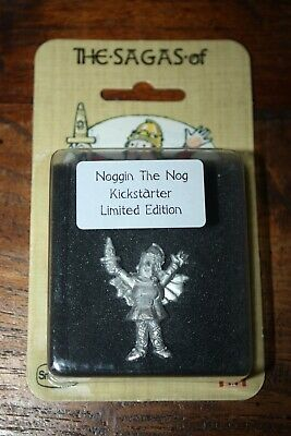 New Blister Limited Edition Noggin The Nog Pin Badge Pewter 28mm Miniature • 20£