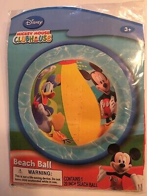 £7.31 • Buy NEW Mickey Mouse Clubhouse Mickey Mouse/Donald Duck 20  Beach Ball NIP