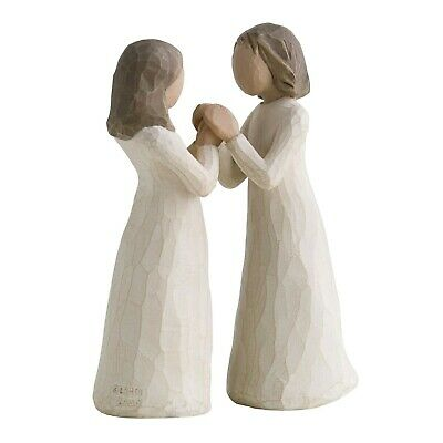 £32 • Buy Willow Tree Sisters By Heart Figurine NEW In Gift Box