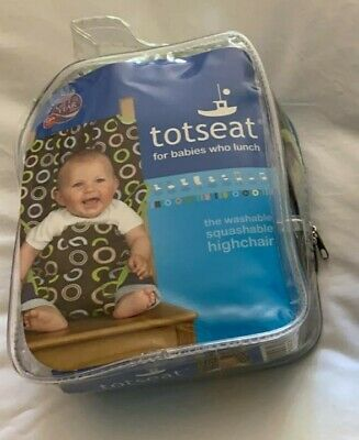 Portable Travel TOTSEAT Highchair Easy Clean Machine Washable • 0.99£