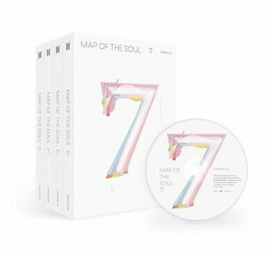 $20.79 • Buy BTS - MAP OF THE SOUL : 7 Album CD+PhotoBook+Sticker+Poster+Gift [NO Photocard]