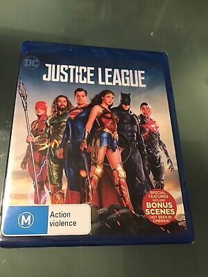 AU10.95 • Buy Justice League (Blu-ray, 2018) BRAND NEW AND SEALED
