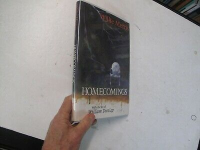 $65 • Buy Signed Willie Morris Biography Dunlap Illus Homecomings Illus 1989 Mississippi