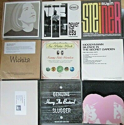Collection Of 9 CD Promo Albums - Wunderbar Drei,Moodymann,Nevertheless,Rose... • 4.99£