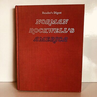 $ CDN11.85 • Buy Norman Rockwell's America Has Posters In It A Hardcover Book Readers Digest