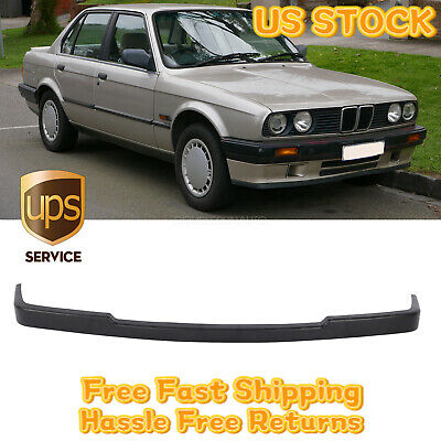 $43.68 • Buy Fits 84-92 BMW E30 MTech Style Front Lip Spoiler Lower Valance Unpainted