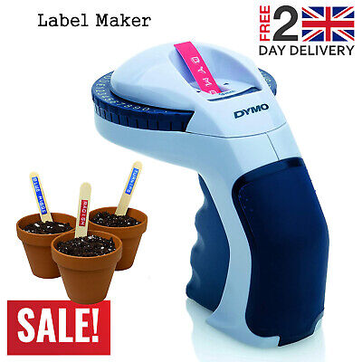 Dymo Embosser Tape Home Embossing Label Maker Office Labeling Omega Handheld New • 23.99£