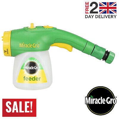 Miracle-Gro Feeder Filled With All Purpose Soluble Plant Food Plant Growth • 16.49£
