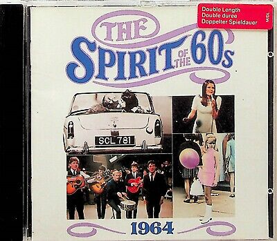 TIME LIFE- 1964 SPIRIT OF THE 60s CD (Best Pop/Rock) Moody Blues Kinks Hollies • 5.54£