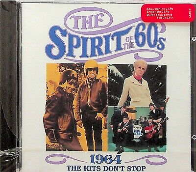 TIME LIFE- SPIRIT OF THE 60s HITS DONT STOP 1964 CD *NEW SEALED RARE* Best Pop • 18.49£