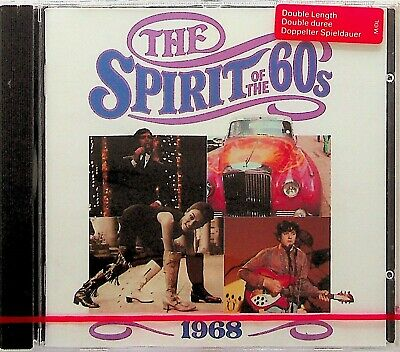 TIME LIFE- 1968 SPIRIT OF THE 60s CD *NEW SEALED RARE* Best Pop Donovan Bee Gees • 18.49£
