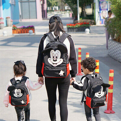Cartoon Mickey Kids Toddler Backpack Rucksack With Reins Boys Girls School Bags • 15.99£