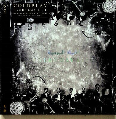 COLDPLAY- Everyday Life 2-LP (NEW SEALED 2019 Vinyl 180g) Champion Of The World • 6.99£