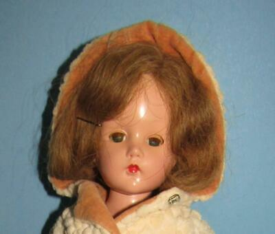 $45 • Buy Vintage Composition Effanbee 14  Suzanne Doll In Original Outfit 1940's