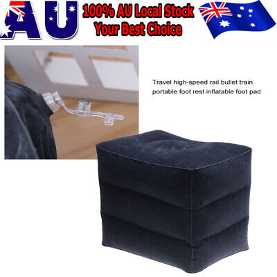 AU9.99 • Buy 2020 Inflatable Foot Rest Travel Air Pillow Cushion Leg Footrest Relax Kids Bed
