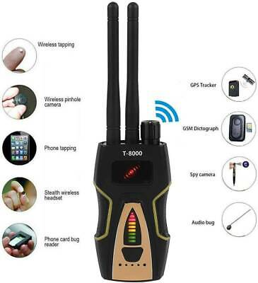 Pro Rf Spy Bug Detector Frequency Scanner Sweeper Gps Gsm Bugs Tracker Signal Wh • 49.03£