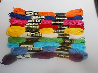 £2.50 • Buy Venus Threads Pack Of 10 Assorted Colours - Colours May Vary