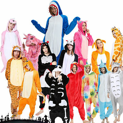 UK Unisex Adult Animal Onsie88Onesie12 Anime Cosplay Pyjama Kigurumi Fancy Dress • 16.99£