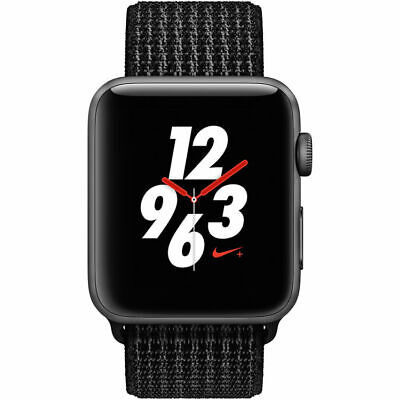 $ CDN277.96 • Buy Apple Watch Nike+ Series 3 42mm Smart Watch - Space Gray/Black (MQLF2LL/A)