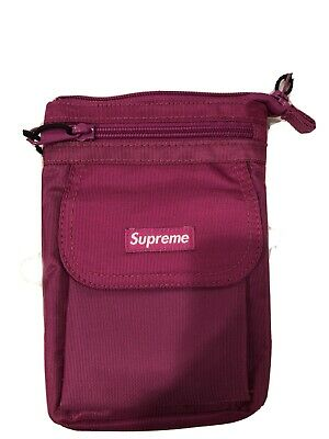 $ CDN76.02 • Buy Supreme Cordura Purple Nylon Bag 100% Authentic