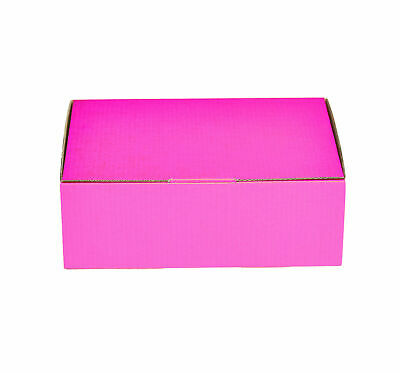 AU36.50 • Buy 25x Mailing Box Pink Colour  310x230x105mm A4 B2 BX2 Shipping Carton Gift Box