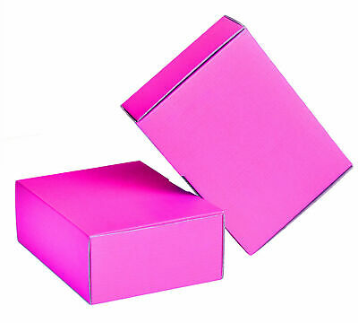 AU94.50 • Buy 100x Mailing Box Pink Colour  310x220x102mm A4 B2 BX2 Shipping Carton Gift Box